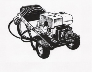 pressure washer drawing