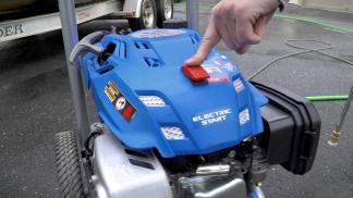 Review Powerstroke Subaru 3100 Psi Electric Start Pressure Washer W Battery
